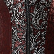 Charmian-Womens-Brocade-Steampunk-Embroidery-Zipper-Steel-Boned-Overbust-cors-0-2