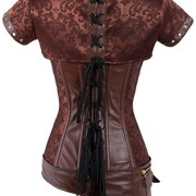 Charmian-Womens-Retro-Goth-Brocade-Steampunk-Overbust-cors-with-Jacket-and-Blet-0-2