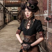 Camisa-con-borde-color-marrn-y-de-escote-de-steampunk-RQBL-top-encaje-0-4