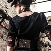 Camisa-con-borde-color-marrn-y-de-escote-de-steampunk-RQBL-top-encaje-0-5