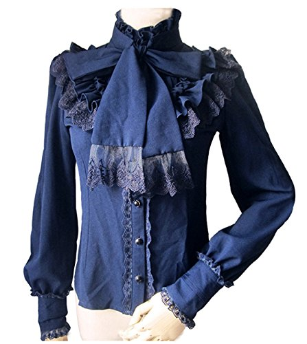 Victorian shirt - steampunk for woman (Various colors) - Tienda ... 1fc2a2ebec7
