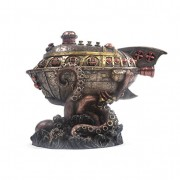 Leviathans-Escape-Steampunk-Sculpture-20-cm-0-1